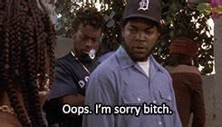 im sorry bitch